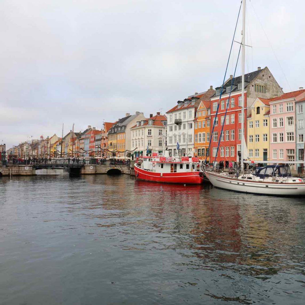 Copenhague: puerto de Nyhavn