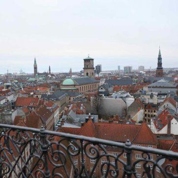 Qué ver en Copenhague: panorámicas desde la Torre Circular