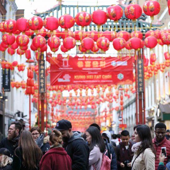 Barrio chino de Londres