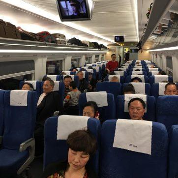 Recorrer China en tren de alta velocidad