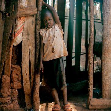 Niño tanzano
