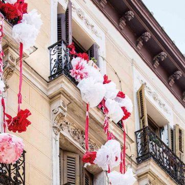 Balcones del Barrio de las Letras