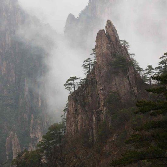 Las montanas sagradas de Huangshan