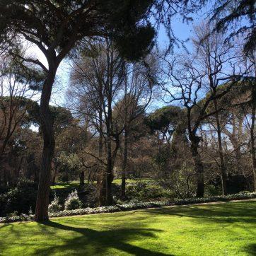 Jardines de El Capricho