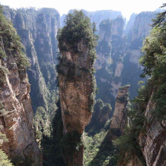 las montañas de Avatar
