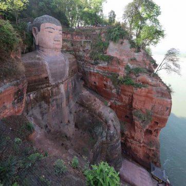 Paisajes de China en Leshan