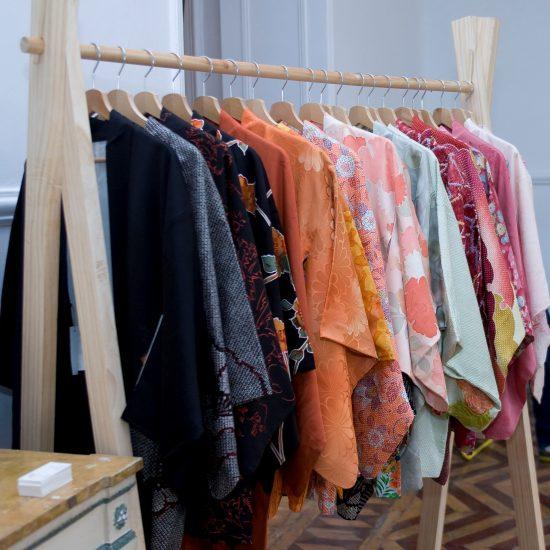 Kimonos en el edición de Otoño del Mercado del Encanto