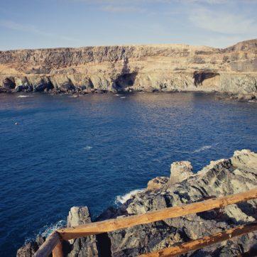 Sendero a las cuevas de Ajuy