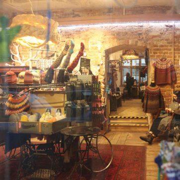 Tienda de lanas en Riga