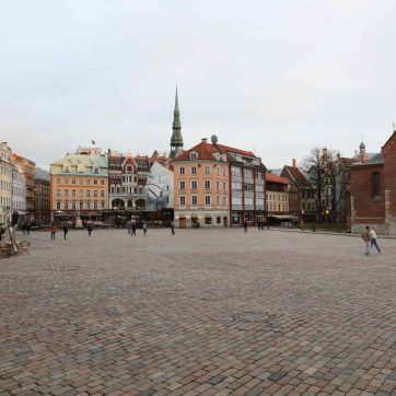 Plaza principal de Riga