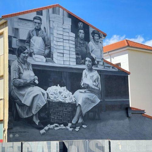 Mural pintado de Astorga