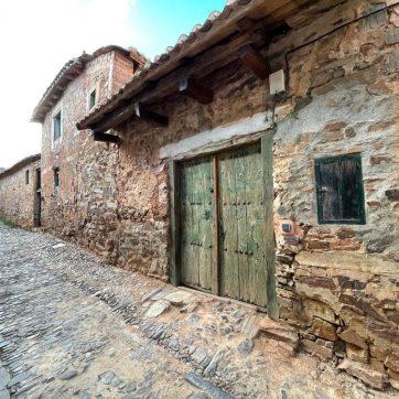arquitectura tradicional de Castrillo de los Polvazares